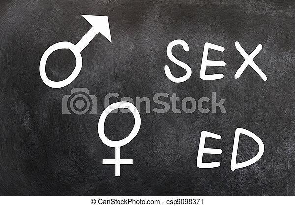 Sex education - csp9098371