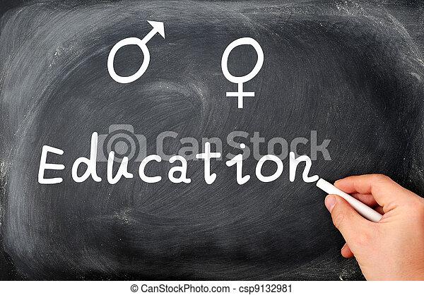 Sex education - csp9132981