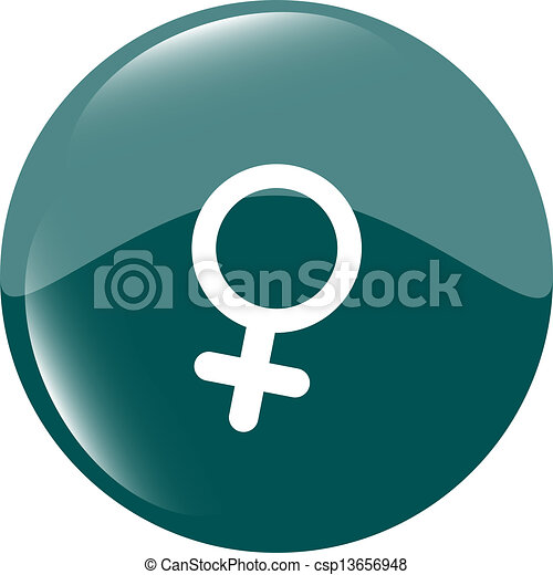 sex green square web glossy icon - csp13656948