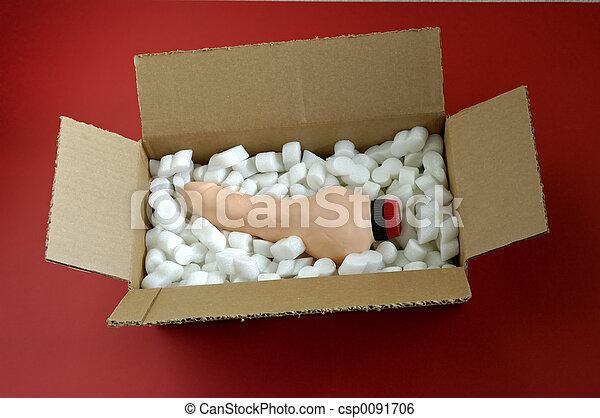 Sex toy in open box - csp0091706