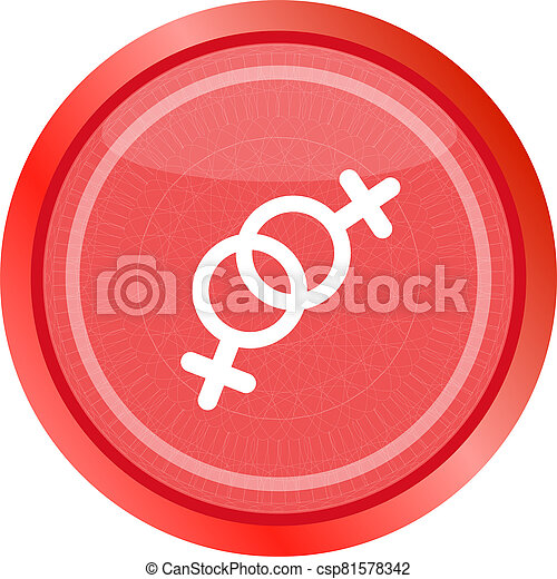 sex web glossy icon isolated on white - csp81578342