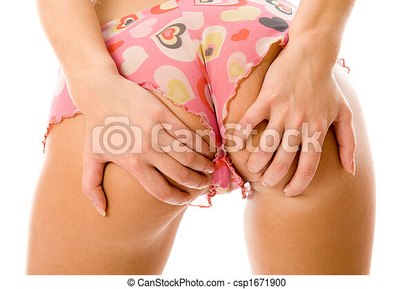 sexig, 3, del, lingerie. - csp1671900