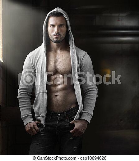 Hombre sexual - csp10694626