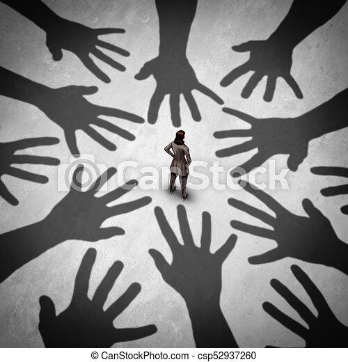 Sexual Harassment - csp52937260