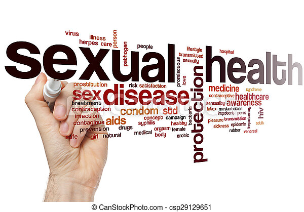 Sexual health word cloud - csp29129651