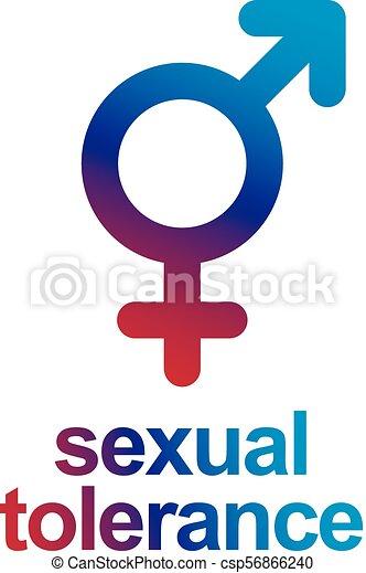 Sexual Tolerance Concept Mars Male And Venus Female Symbols