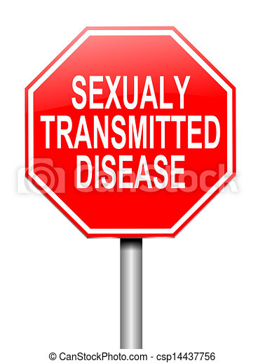 Sexually transmitted infections clip art tree