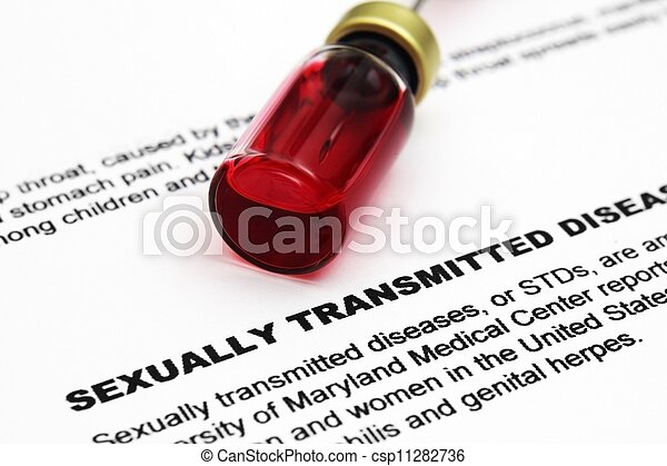 Sexually transmitted disease - csp11282736