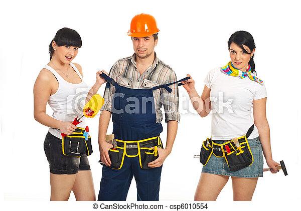 Sexy Arbeiter