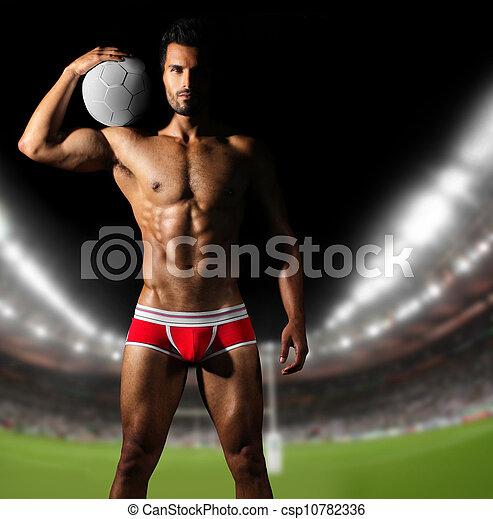 Sexy athlete - csp10782336