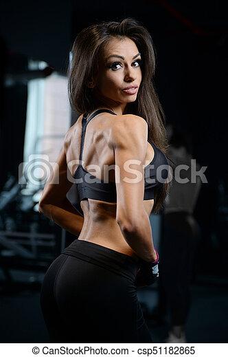 Athletic sexy