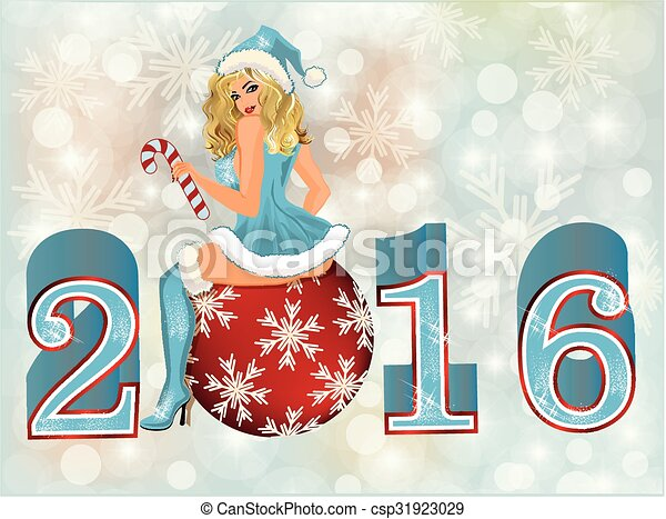 Sexy new years eve clip art
