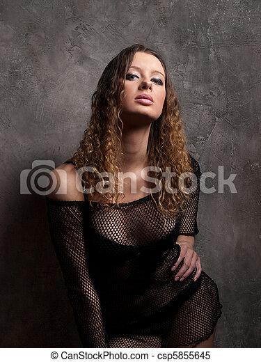 sexy, ciało - csp5855645