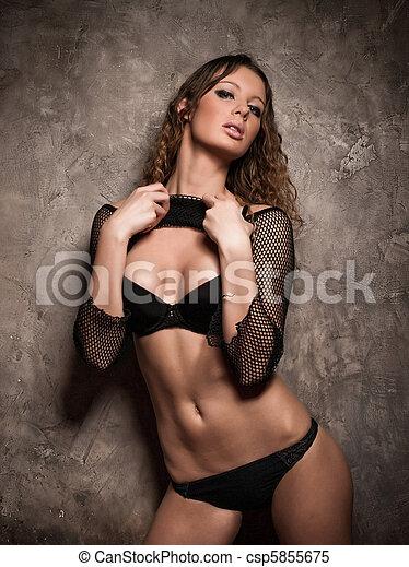 sexy, ciało - csp5855675