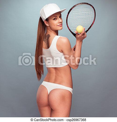 Tennis star sexy clip