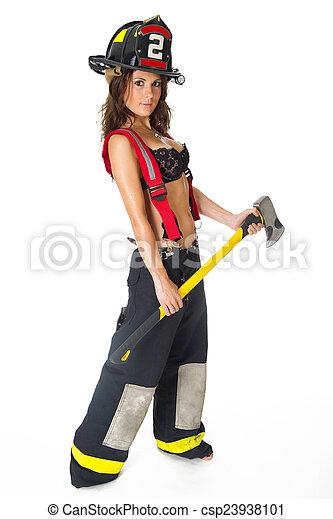 sexy Feuerwehrmann