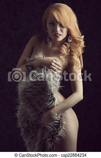 ginger woman nude