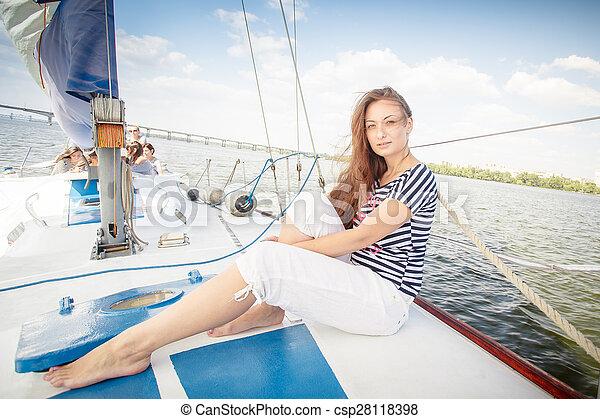 hot girls sailing