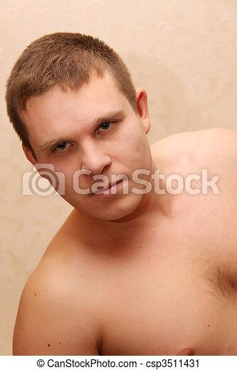 sexy guy - csp3511431