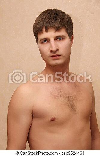 sexy guy - csp3524461