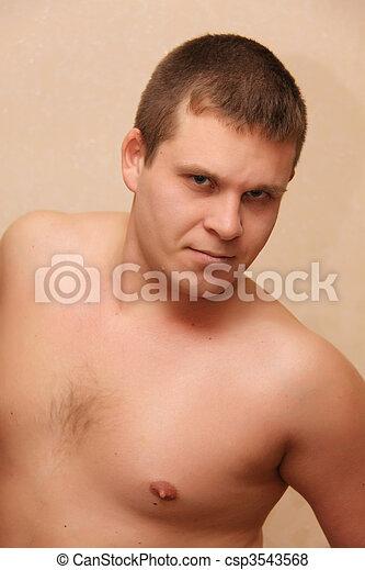 sexy guy - csp3543568