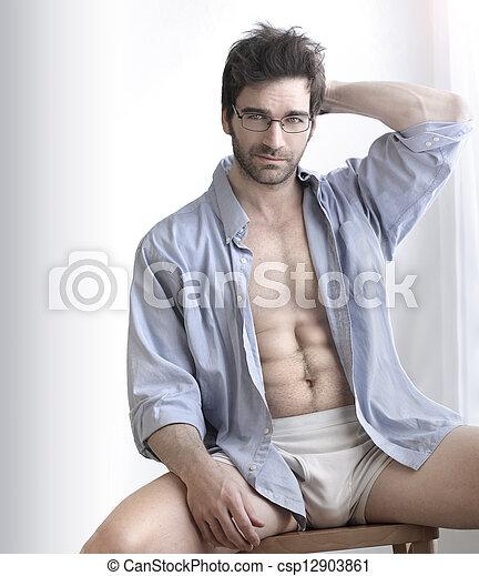 Sexy guy - csp12903861