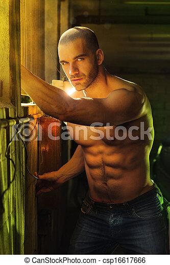 Sexy guy - csp16617666