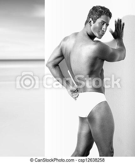 Sexy guy - csp12638258