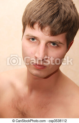 sexy guy - csp3538112