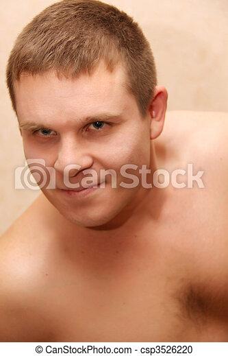 sexy guy - csp3526220