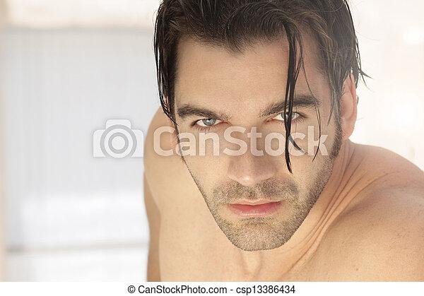 Sexy guy - csp13386434