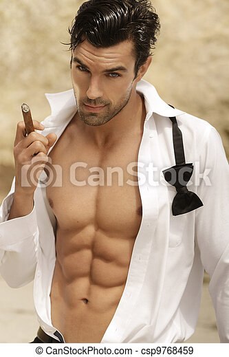Hombre sexy - csp9768459