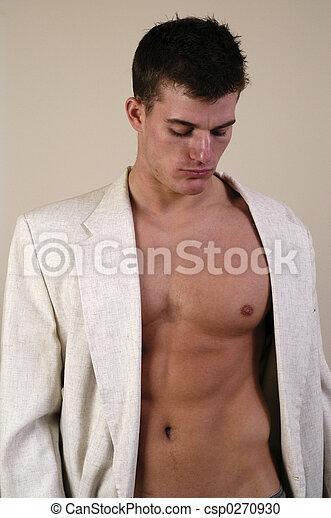 sexy, homme - csp0270930