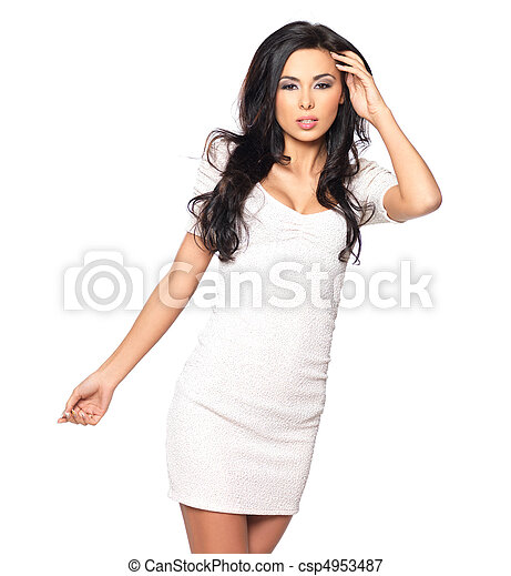 Sexy in Dress - csp4953487