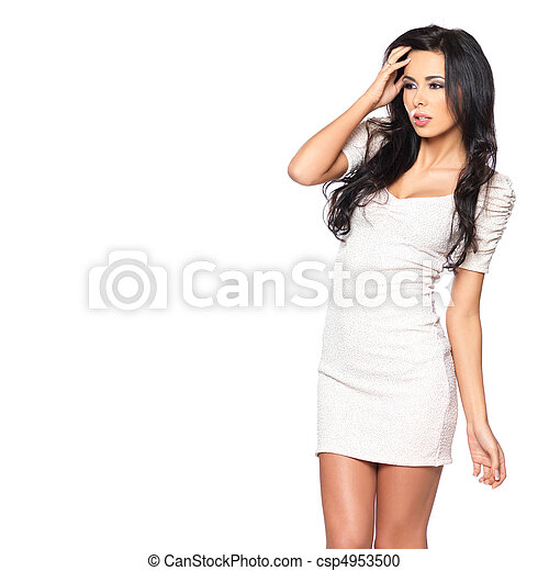 Sexy in Dress - csp4953500