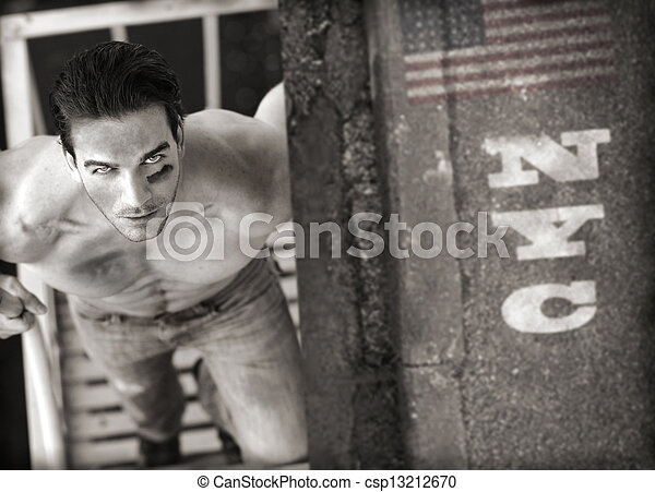 Sexy man - csp13212670