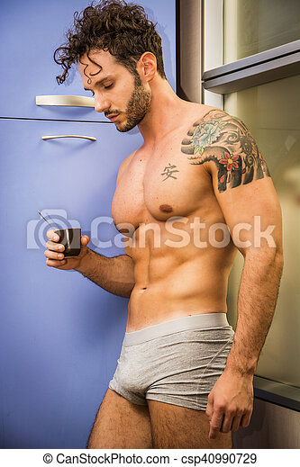 Sexy man photo
