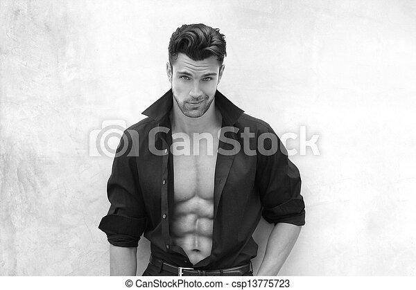 Sexy man - csp13775723