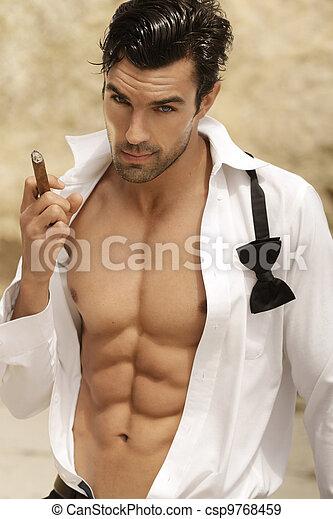 Sexy man - csp9768459