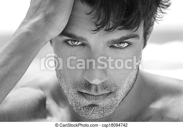 sexy, man - csp18094742
