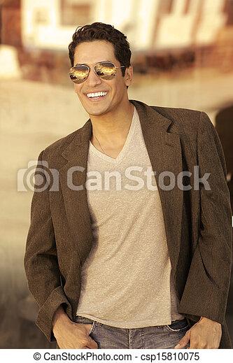 Sexy man sunglasses - csp15810075