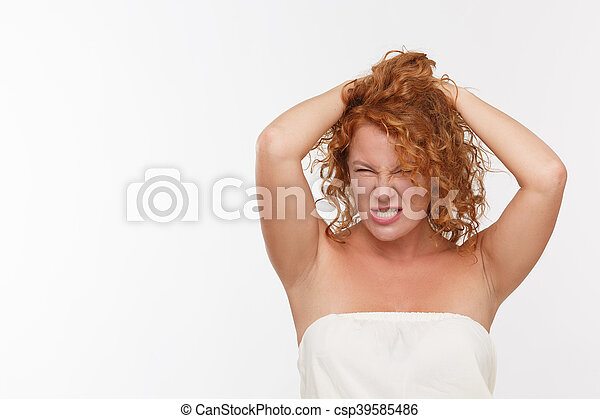 Sexy mature woman - csp39585486