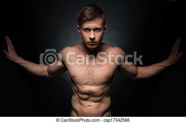 Naked man blow jobs