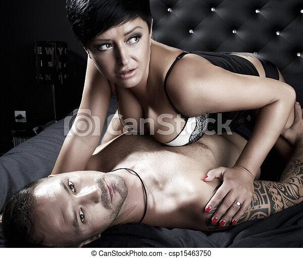 sexy Paar im Bett Video