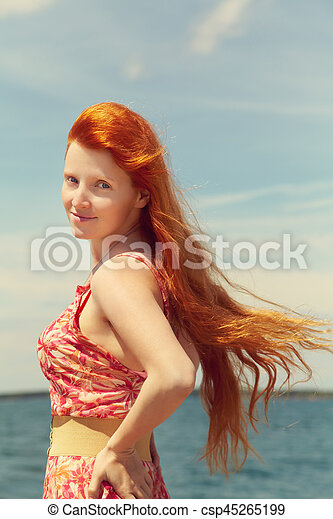 Free picture redhead sexy