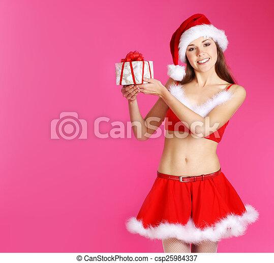Sexy Santa - csp25984337