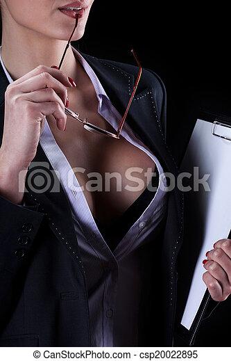 sexy, segretario - csp20022895