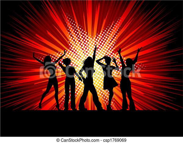 Sexy Tänzerinnen - csp1769069