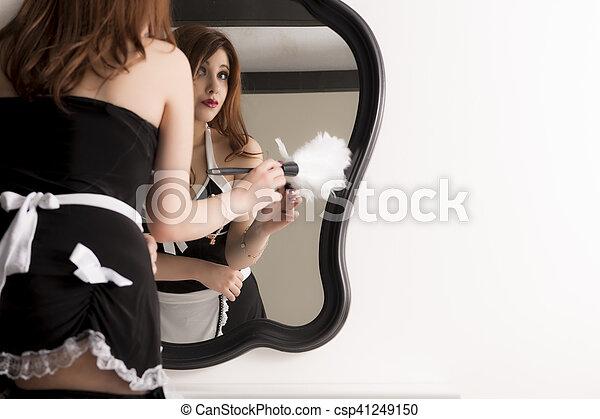 Skimpy maid