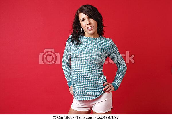 Sexy woman  - csp4797897